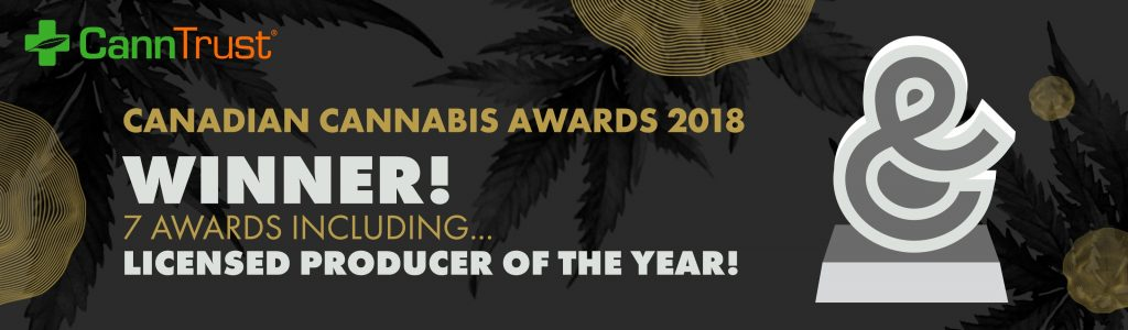 CannTrust Dominates 2018 Canadian Cannabis Awards